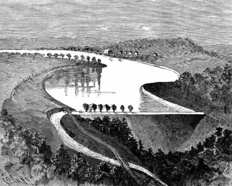 south fork dam essay Johnstown had been built on a flood plain at the fork of the little conemaugh and   of a mountain - 450 feet higher than johnstown - by the old south fork dam.