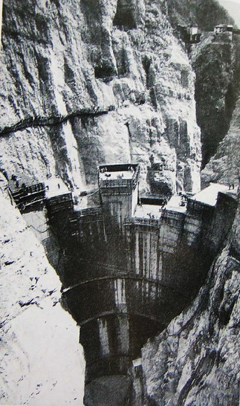 Vajont Dam Italy 1963 Case Study Asdso Lessons Learned